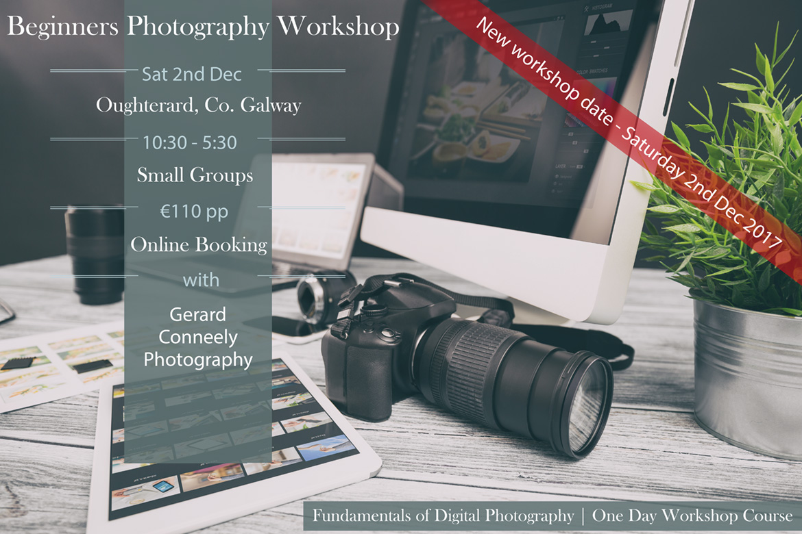 beginners photography workshop galway 2017