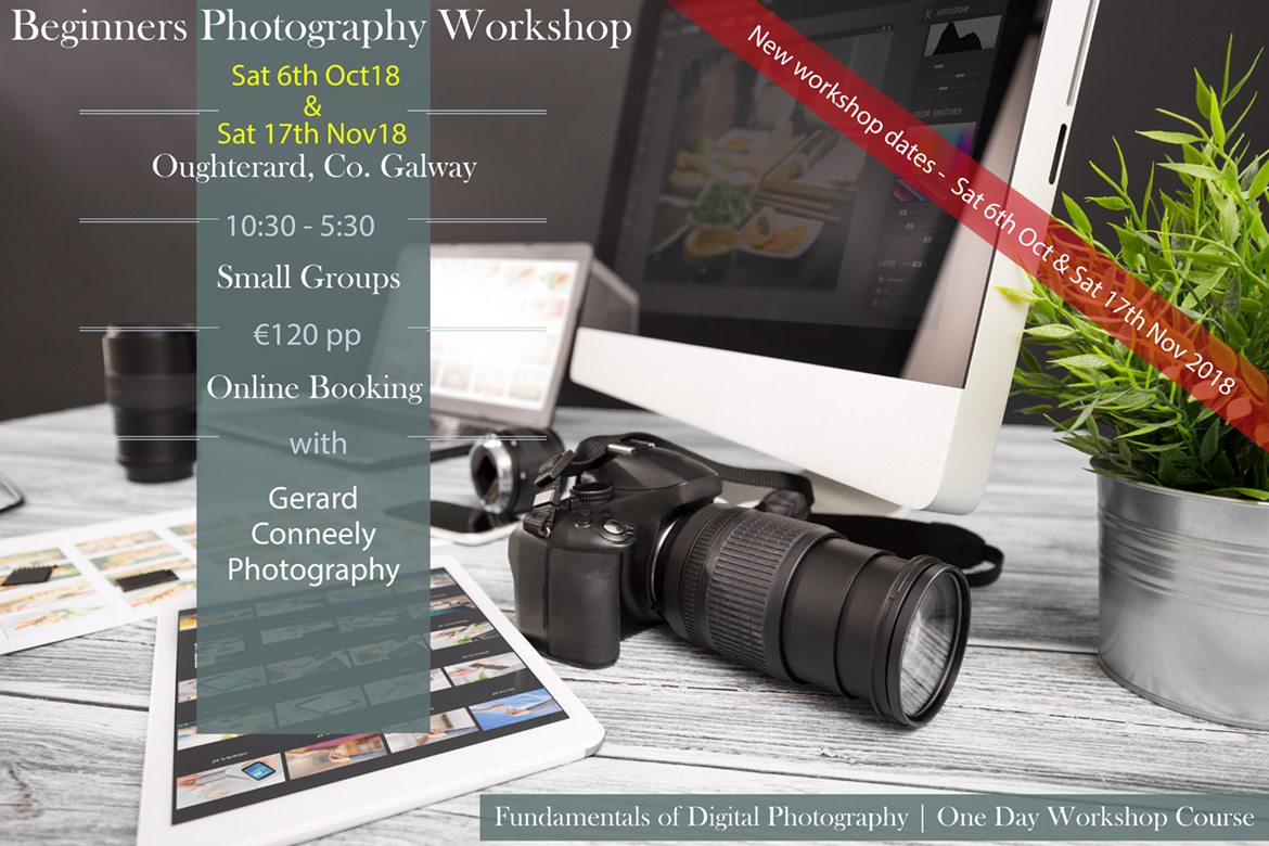 beginners photography workshop galway 2018