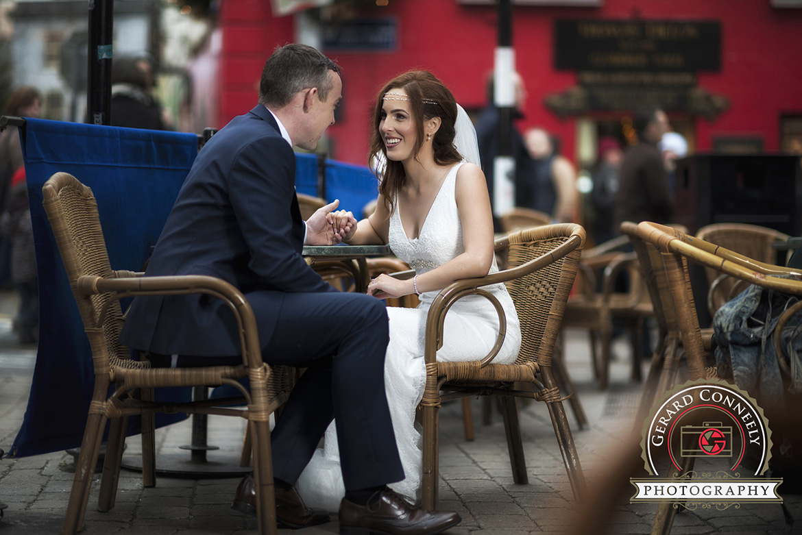 bride groom wedding quay street galway gerard conneely photography photo