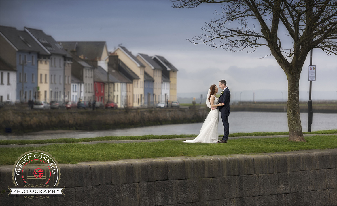 wedding claddagh galway bride groom gerard conneely photography photo