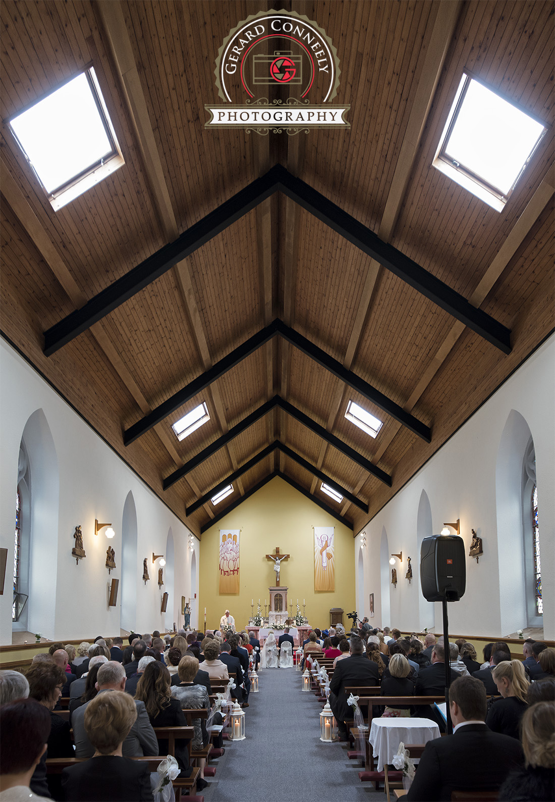 wedding Roveagh Church galway
