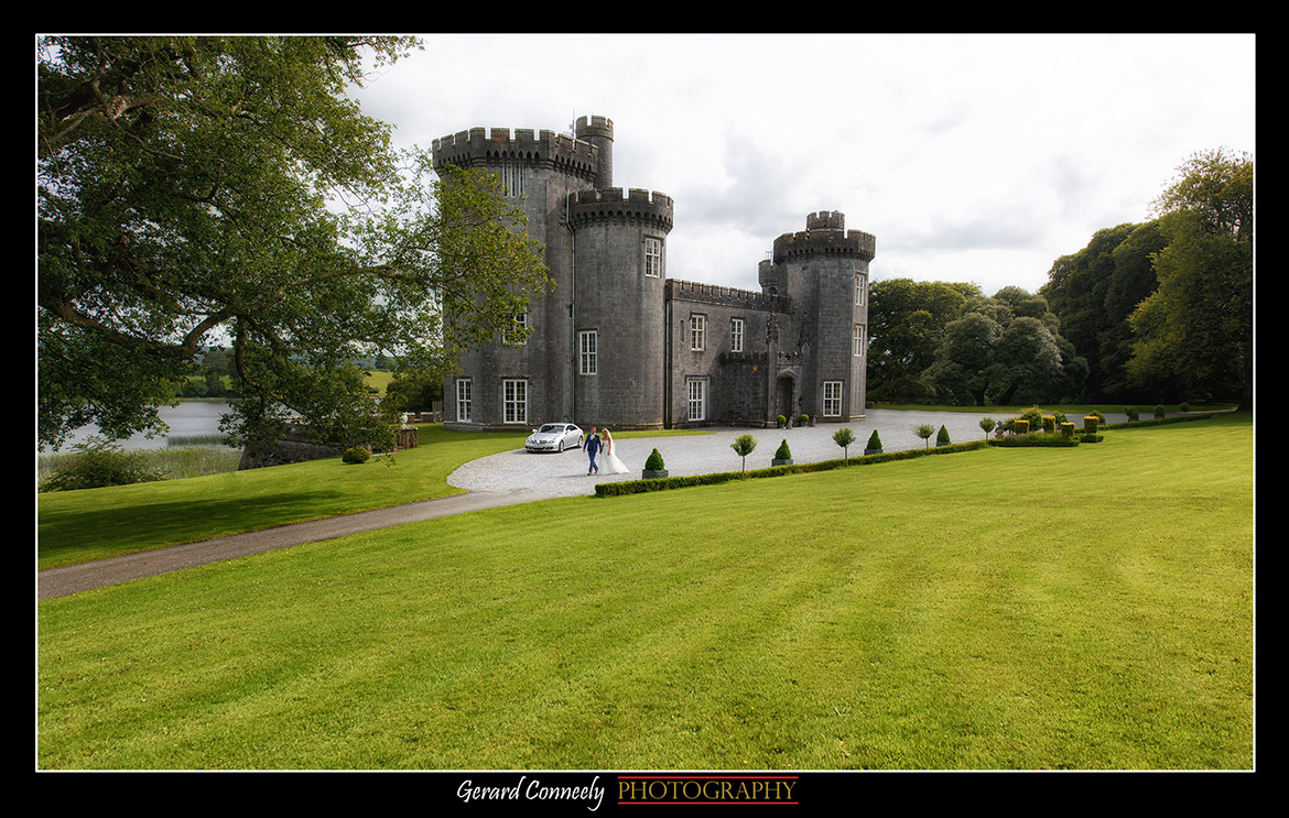 Galway Wedding Photographer Gerard Conneely Photography Photo at lough cutra castle gort