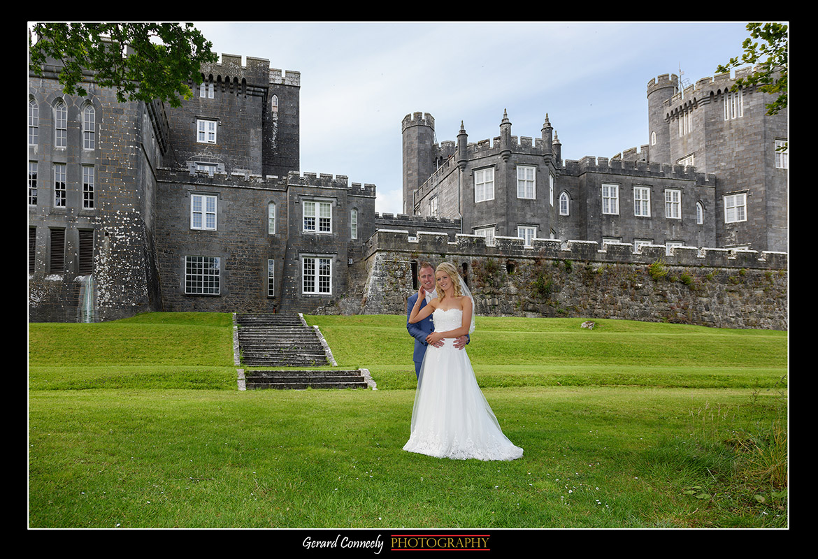 galway wedding photography gerard conneely photography at lough cutra castle