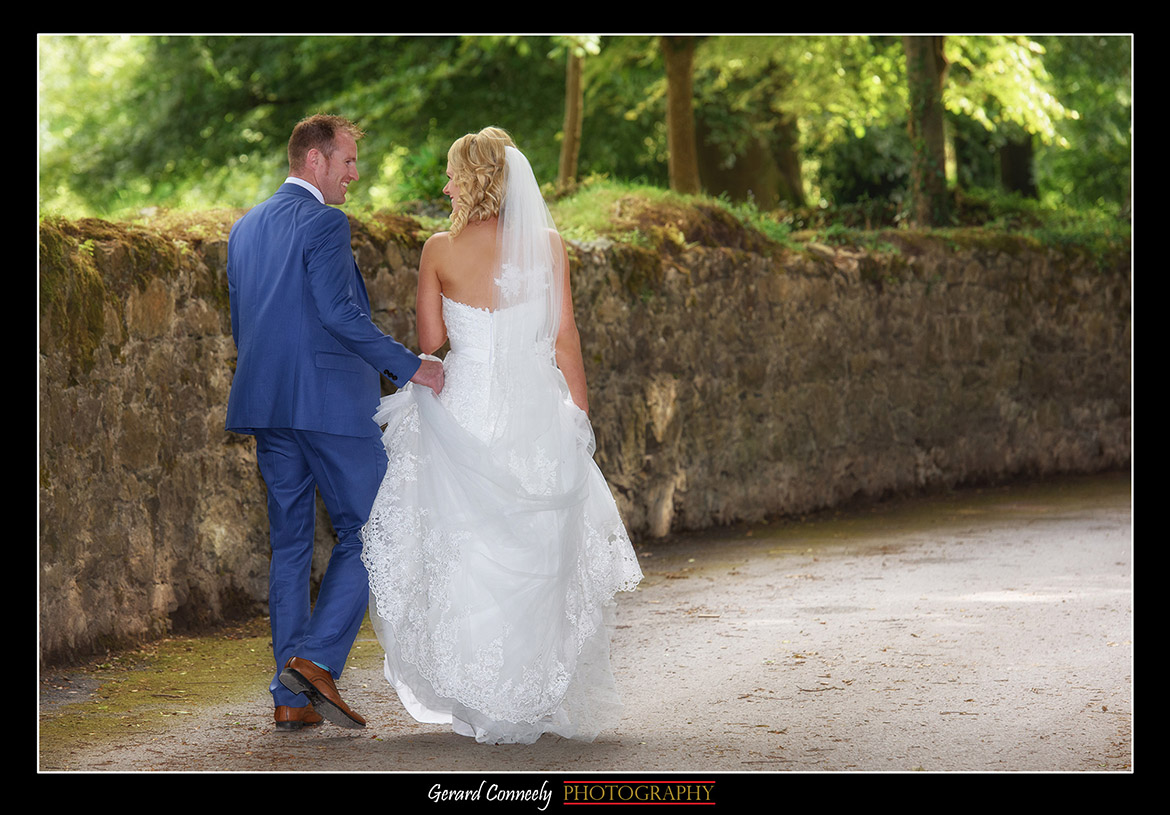 gerard conneely photography wedding at lough cutra castle gort