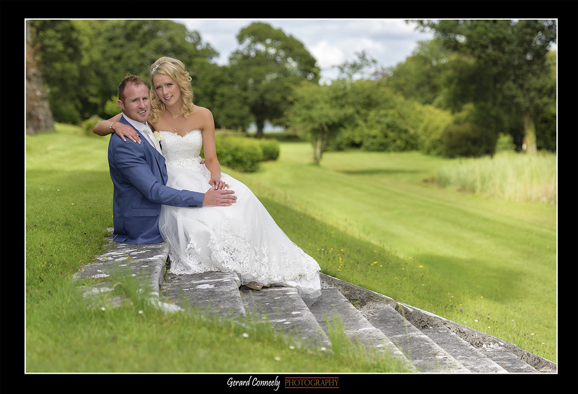 lough cutra castle wedding by gerard conneely photography photo