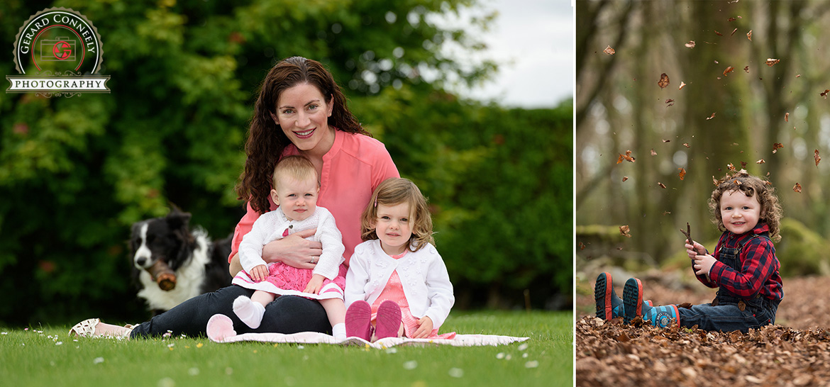book outdoor family portrait photographer galway