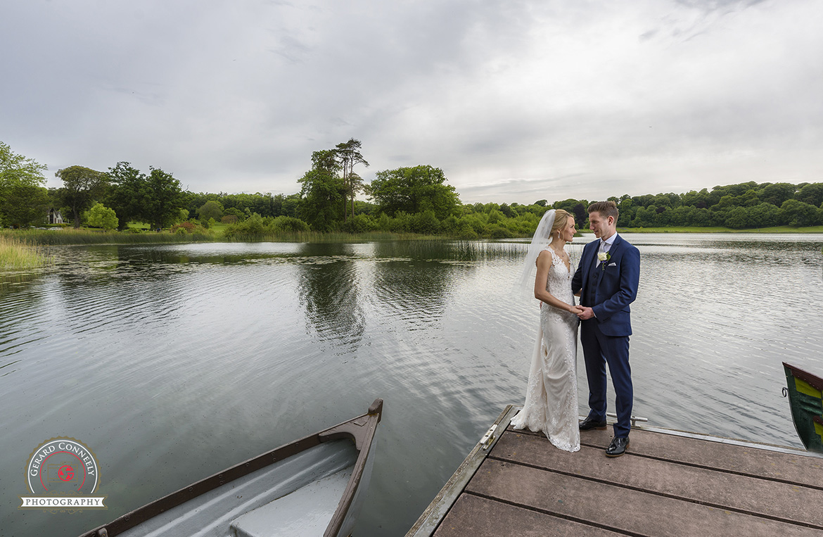 dromoland castle wedding boat house