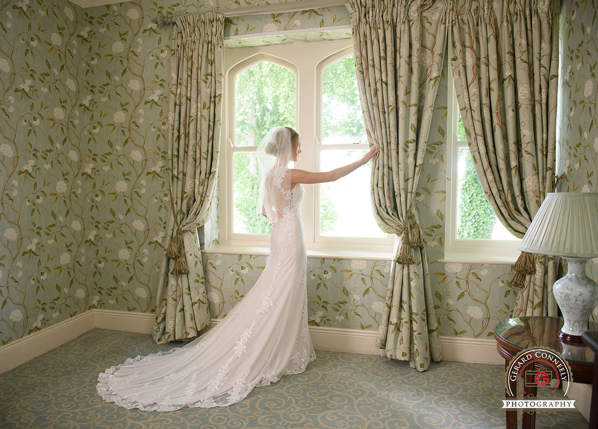wedding dromoland castle bridal suite
