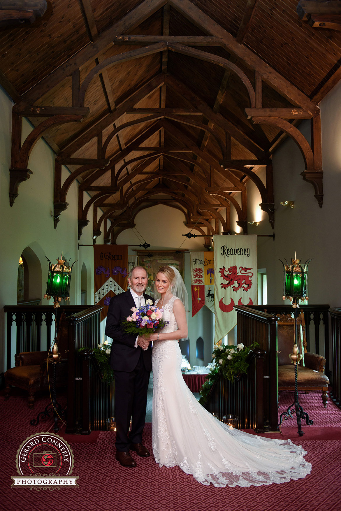 wedding photographer dromoland castle