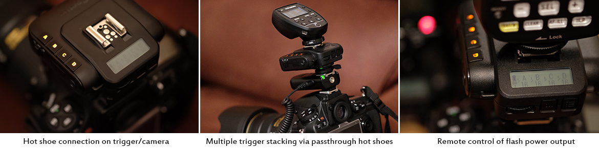 Wireless speedlite triggers for nikon and canon