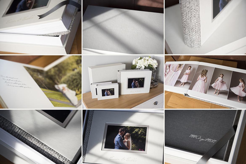 Wedding albums stunning albums designed and presented to capture gerard conneely photography wedding album designs solutioingenieria Choice Image