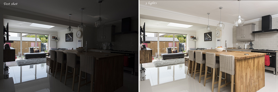 lighting for property photography