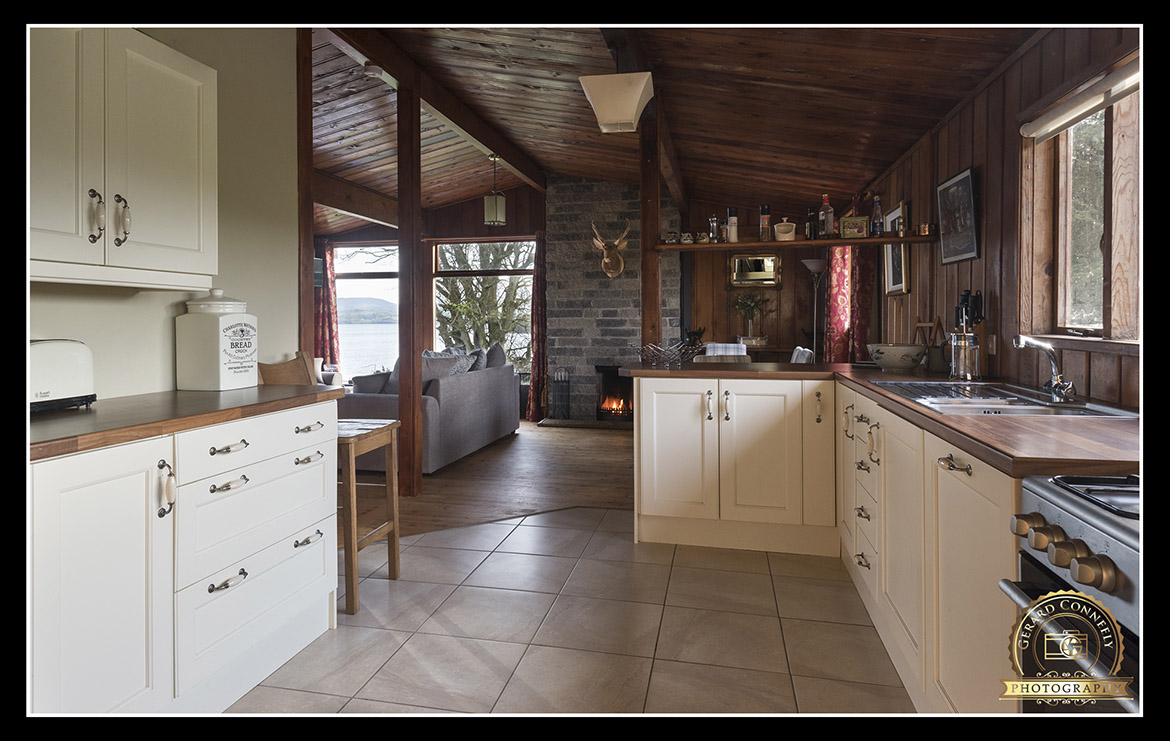 log cabin interior photographer ireland