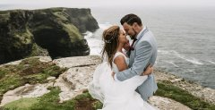 Cliffs of Moher wedding photography by gerard conneely