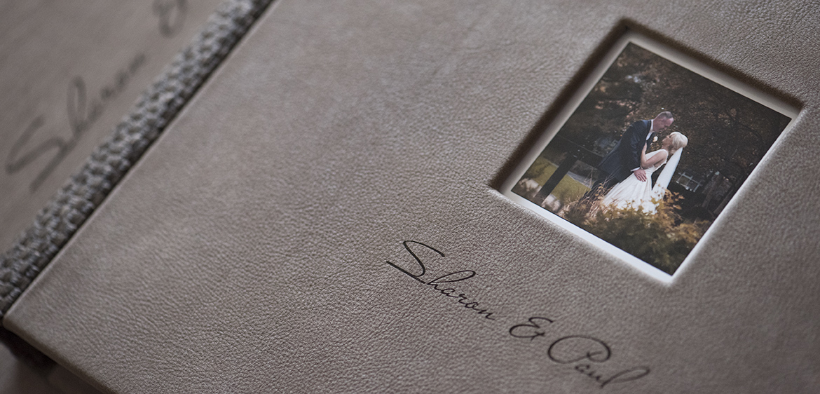 luxury wedding photography album book
