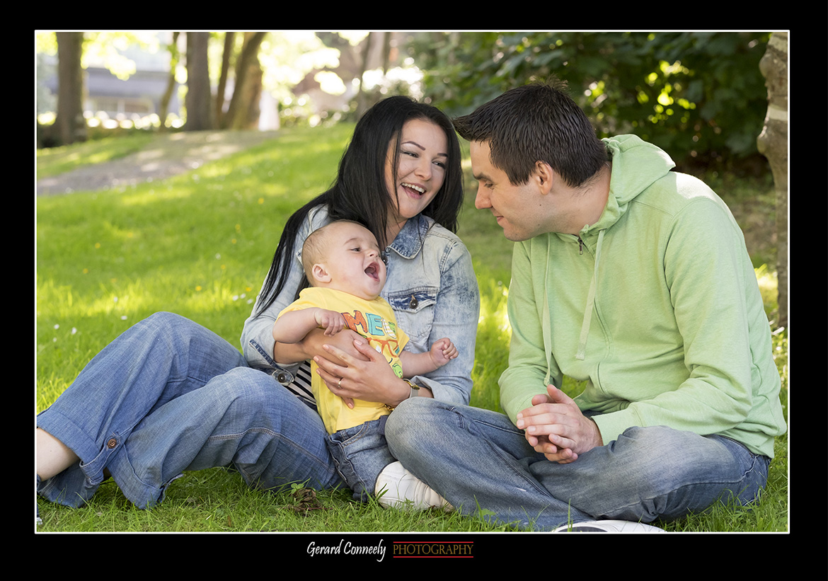 Outdoor Family Portrait Session in Galway with Gerard Conneely Photography Photo