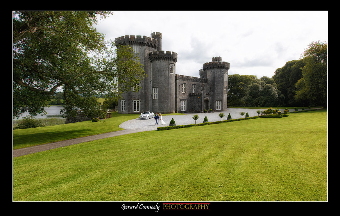 Wedding Photography Bride and Groom at Lough Curta Castle Gerard Conneely Photography Photo