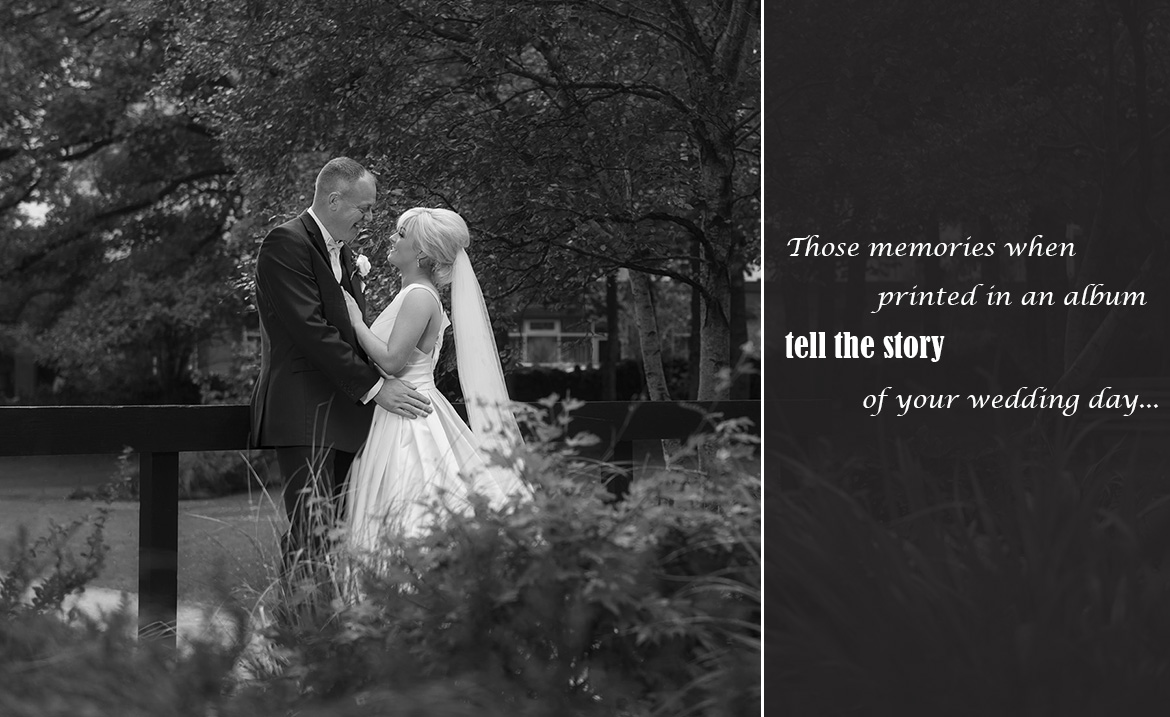 story book wedding albums galway