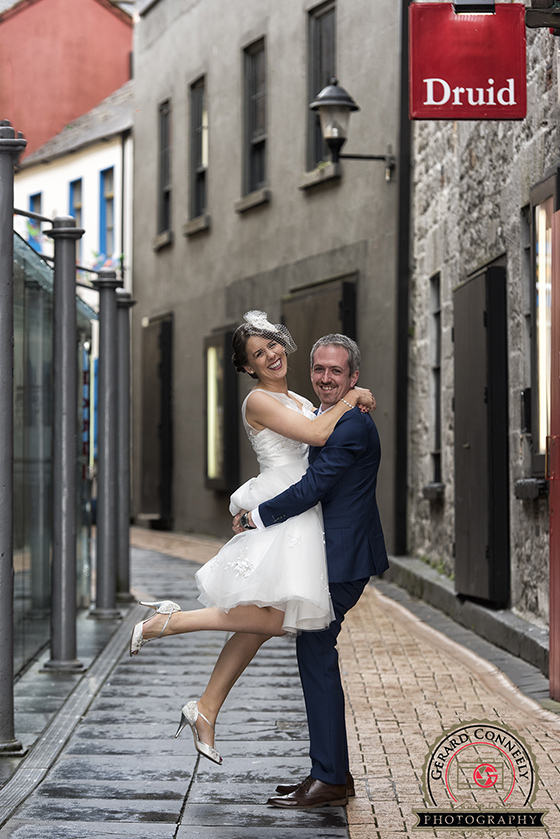 Wedding Photographer Galway Quay Street Gerard Conneely Photography Photo
