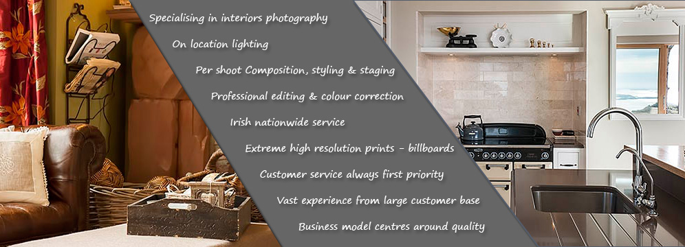 Interiors Photographer Ireland Photo