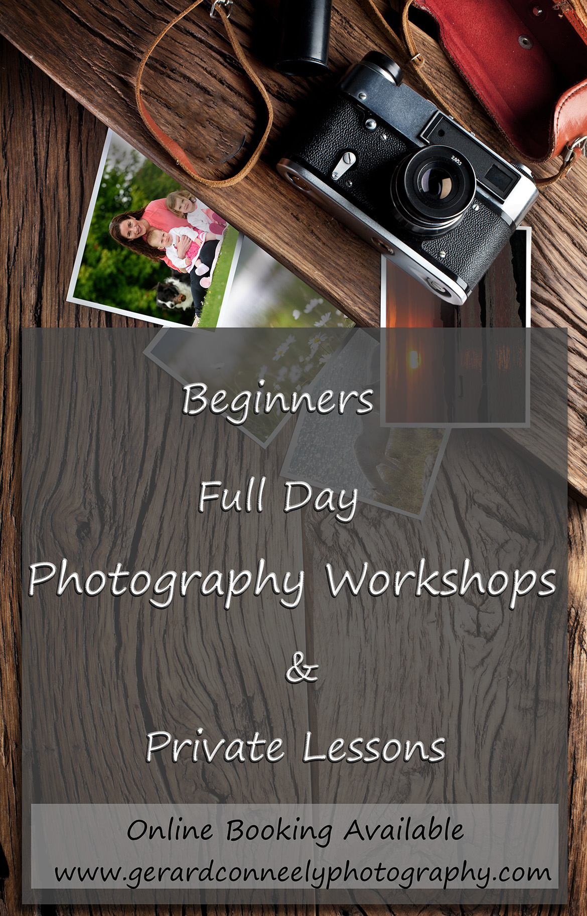 Recommended classes for learning photography in Ireland