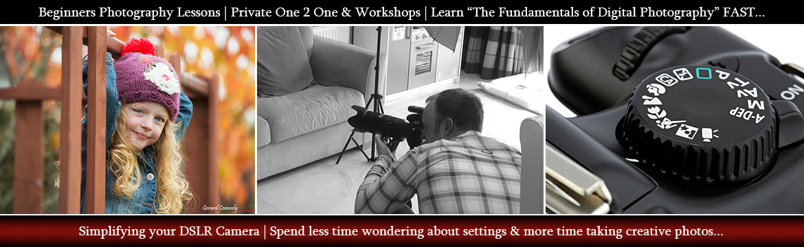 Beginners Photography Courses and workshops Galway