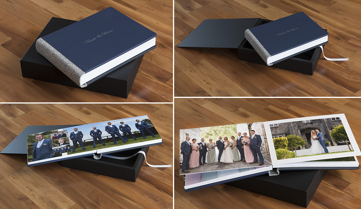 Sample wedding album galway