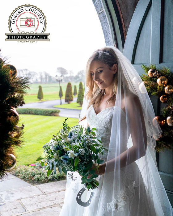 gerard conneely photography wedding bride photo at the glenlo abbey hotel in ireland