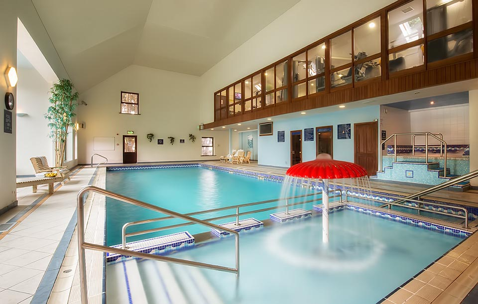 Photo of a hotel swimming pool at Oranmore Lodge Galway