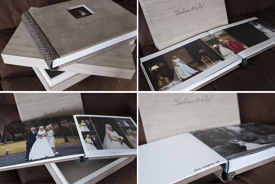 wedding albums galway salthill hotel wedding photography