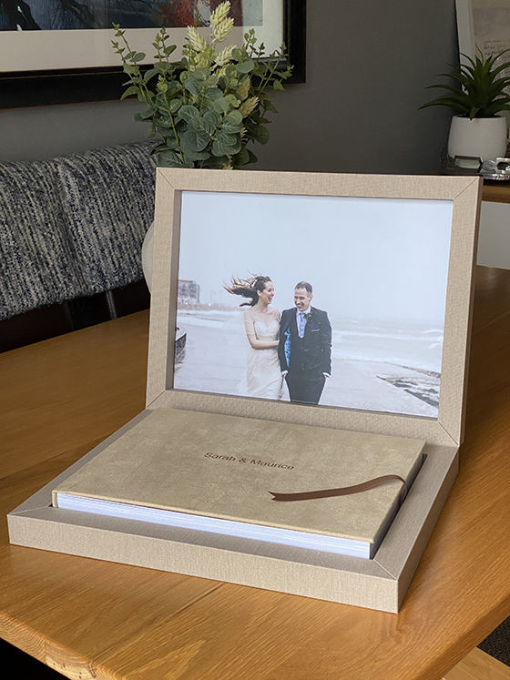 Best wedding albums and wedding books available to order in Ireland
